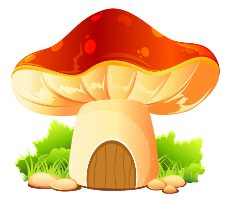 домик-грибок