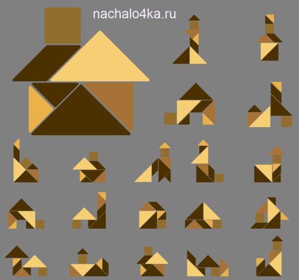 танграм-домики превью
