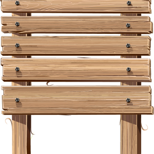 деревянная табличка 3
