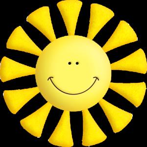 солнышко улыбается