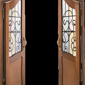 красивая открытая дверь