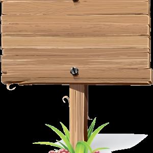 деревянная табличка 2