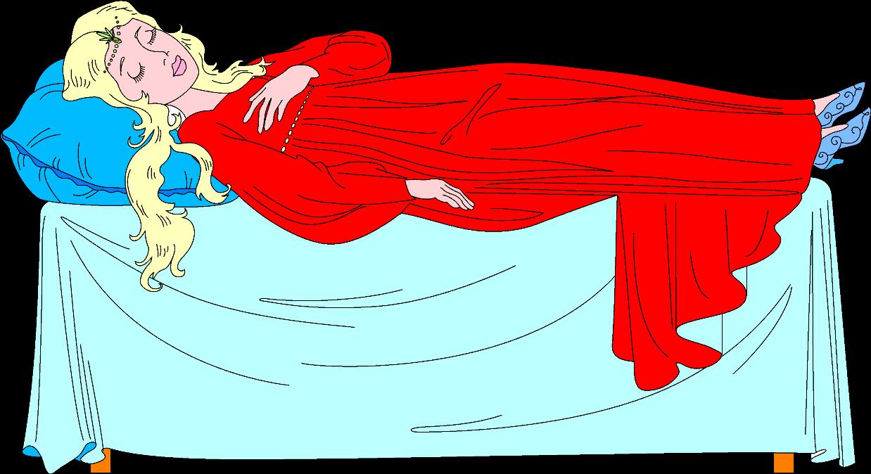 Спящая царевна картинки рисованные
