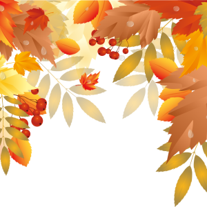 Осенние элементы оформления для