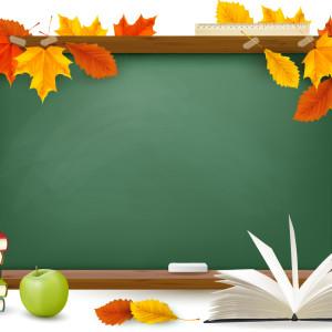 фон школьная доска 1 сентября