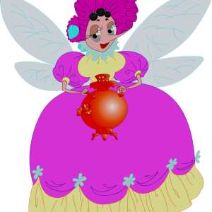герои русских сказок муха-цокотуха