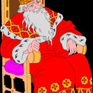 герои русских сказок царь