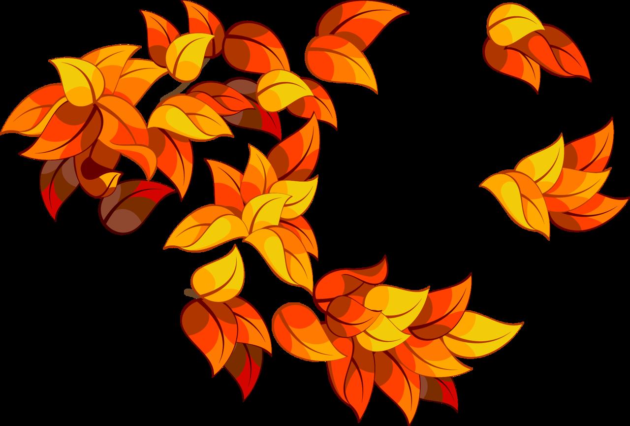 Осенние листья картинки цветные шаблоны для вырезания - 3