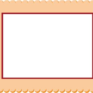 осенняя рамка шаблон 1