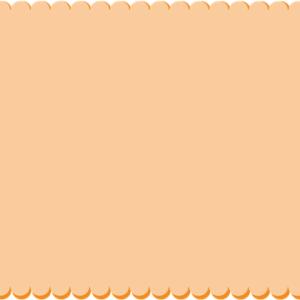 осенняя рамка шаблон 2