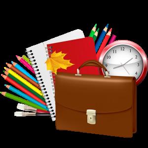 портфельи школьные принадлежности