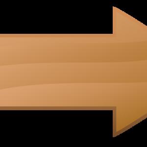 стрелка деревянная