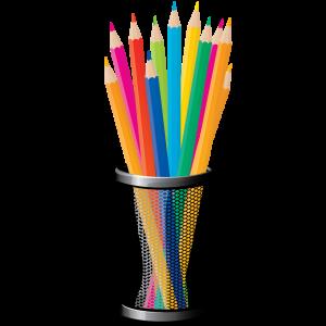 цветные карандаши 2