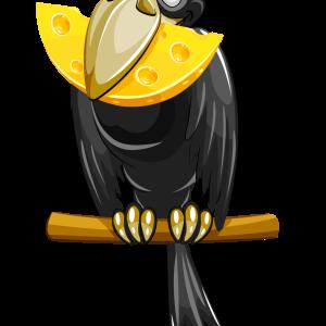 ворона-с-сыром