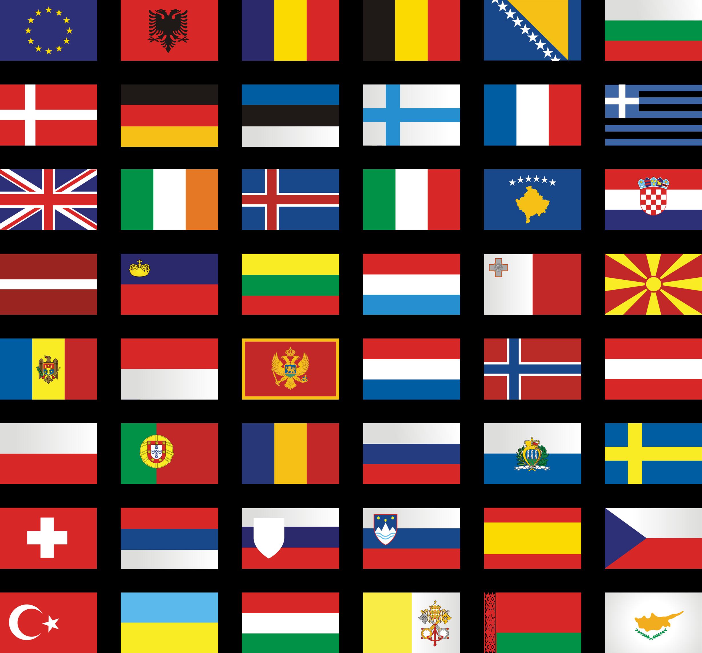 анимационные картинки флаги стран мира