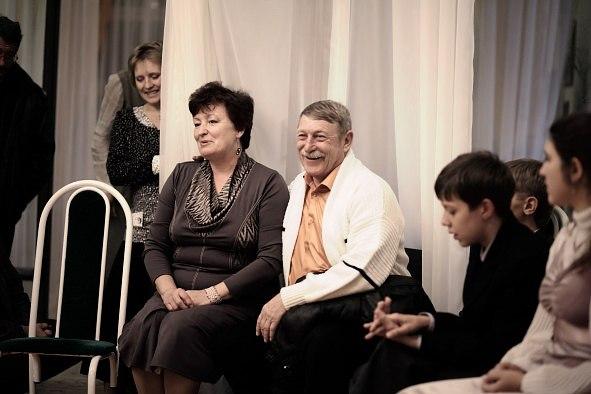 Силенок Н. Н. с супругом - организаторы семинара.