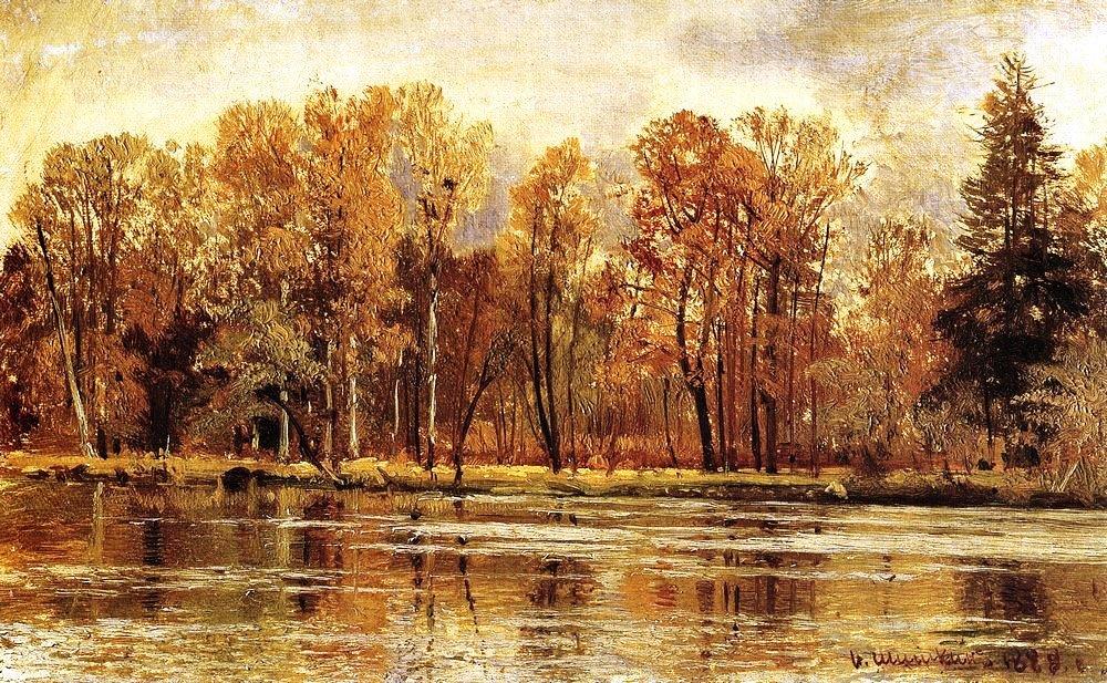 . Шишкин. Золотая осень. 1888