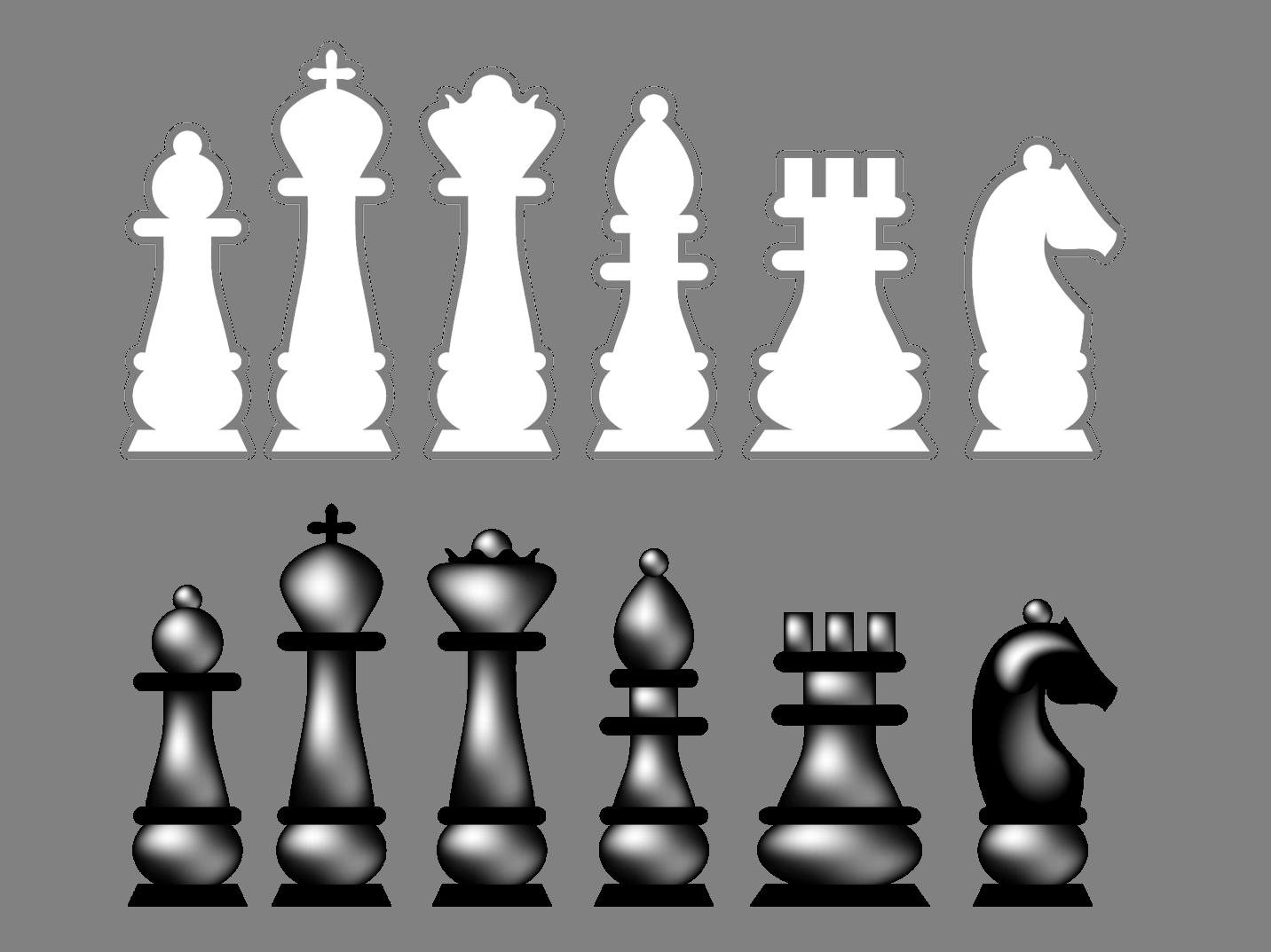 шахматные фигуры превью