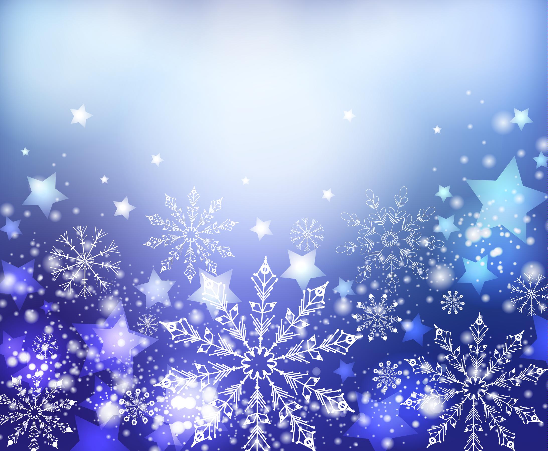 зимний новогодний фон 01