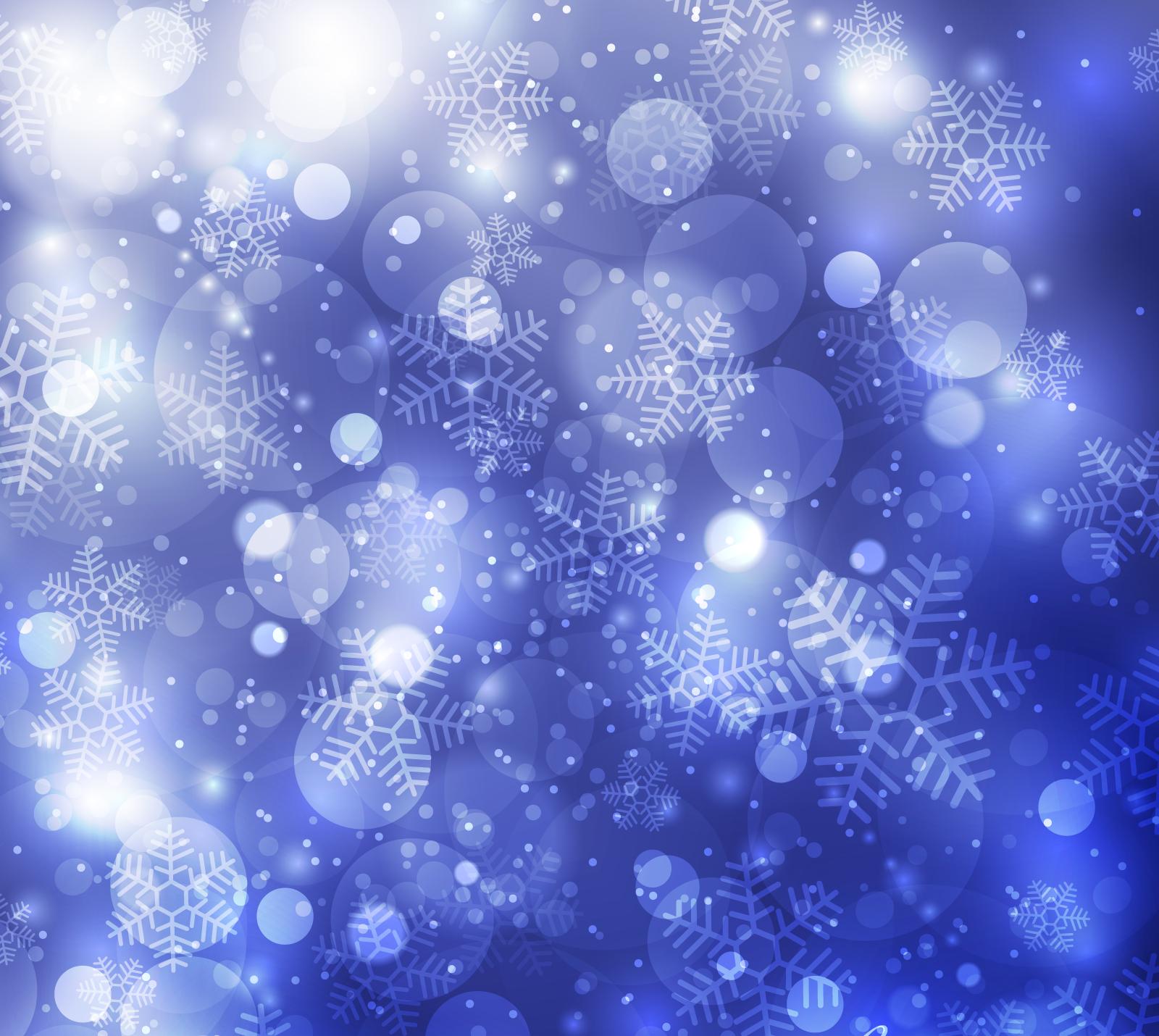 зимний новогодний фон 09