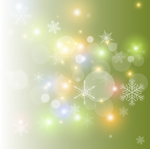 зимний новогодний фон 10