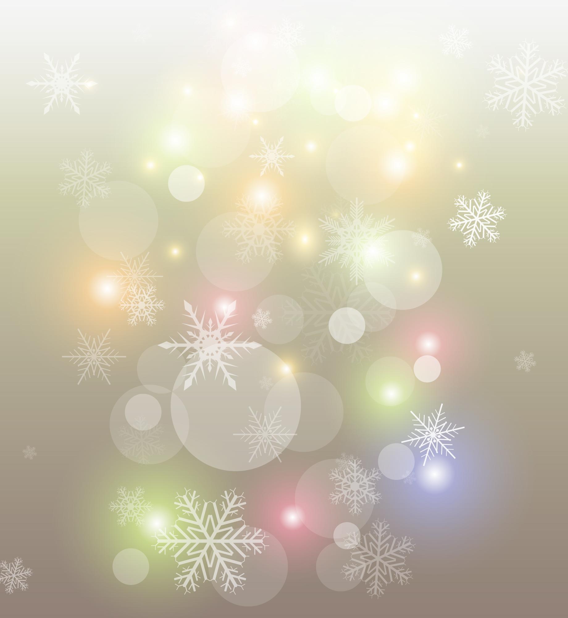 зимний новогодний фон 11