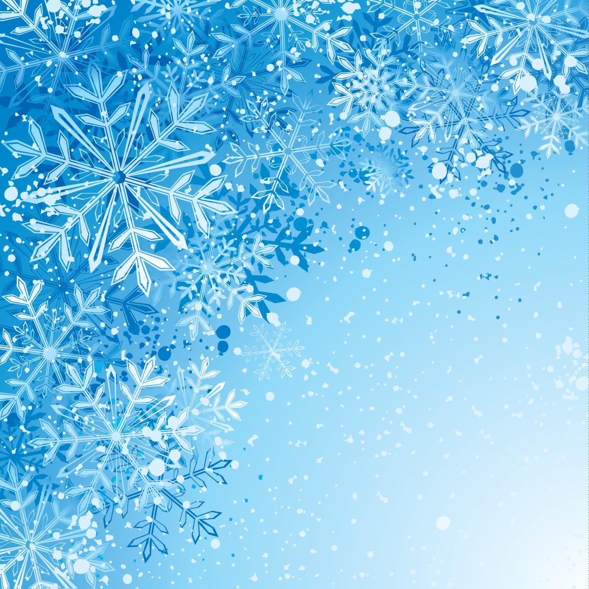 зимний новогодний фон 12