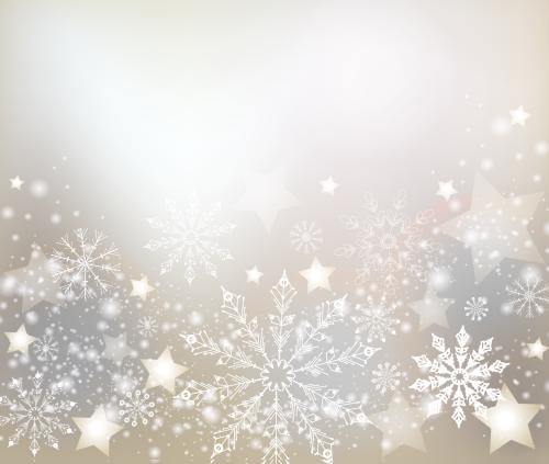 зимний новогодний фон 2