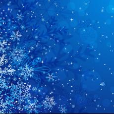 Зимние новогодние фоны
