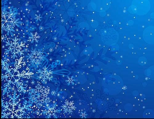 зимний новогодний фон 5