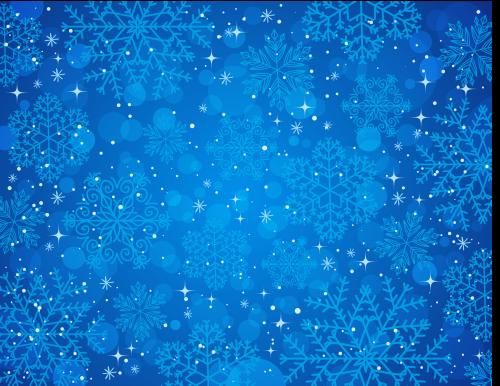 зимний новогодний фон 4