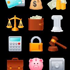 иконки финансы