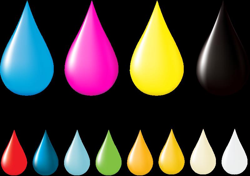 разноцветные-капли 1