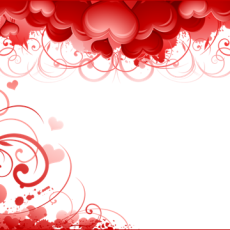 валентинка шаблон 1.01