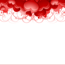 валентинка шаблон 1.02