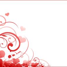 валентинка шаблон 1.03