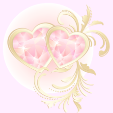 валентинка шаблон 2.02