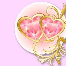валентинка шаблон 2.03
