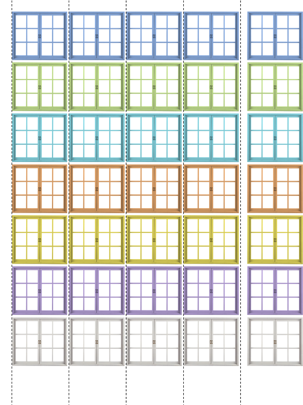 Карточки Состав Чисел Первого Десятка Домики