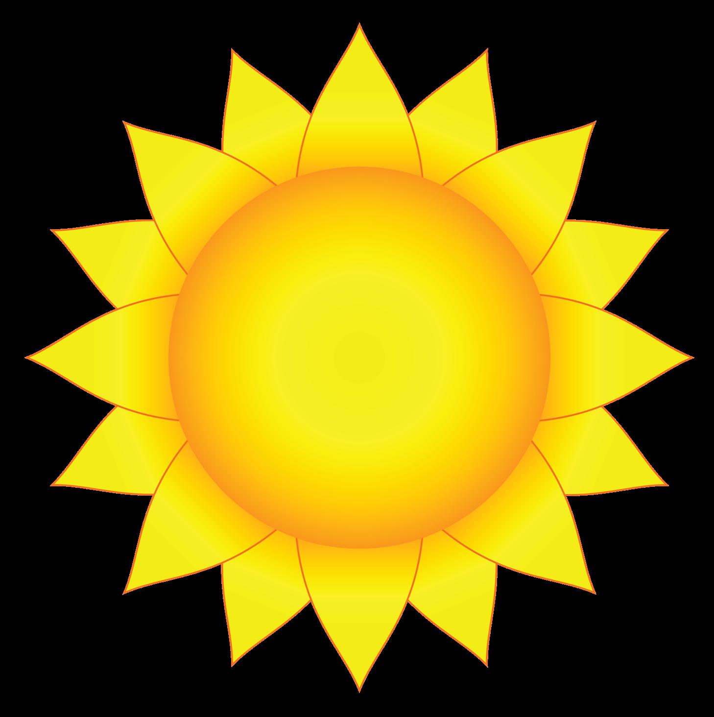 солнышко картинки для вырезания цветные звонят