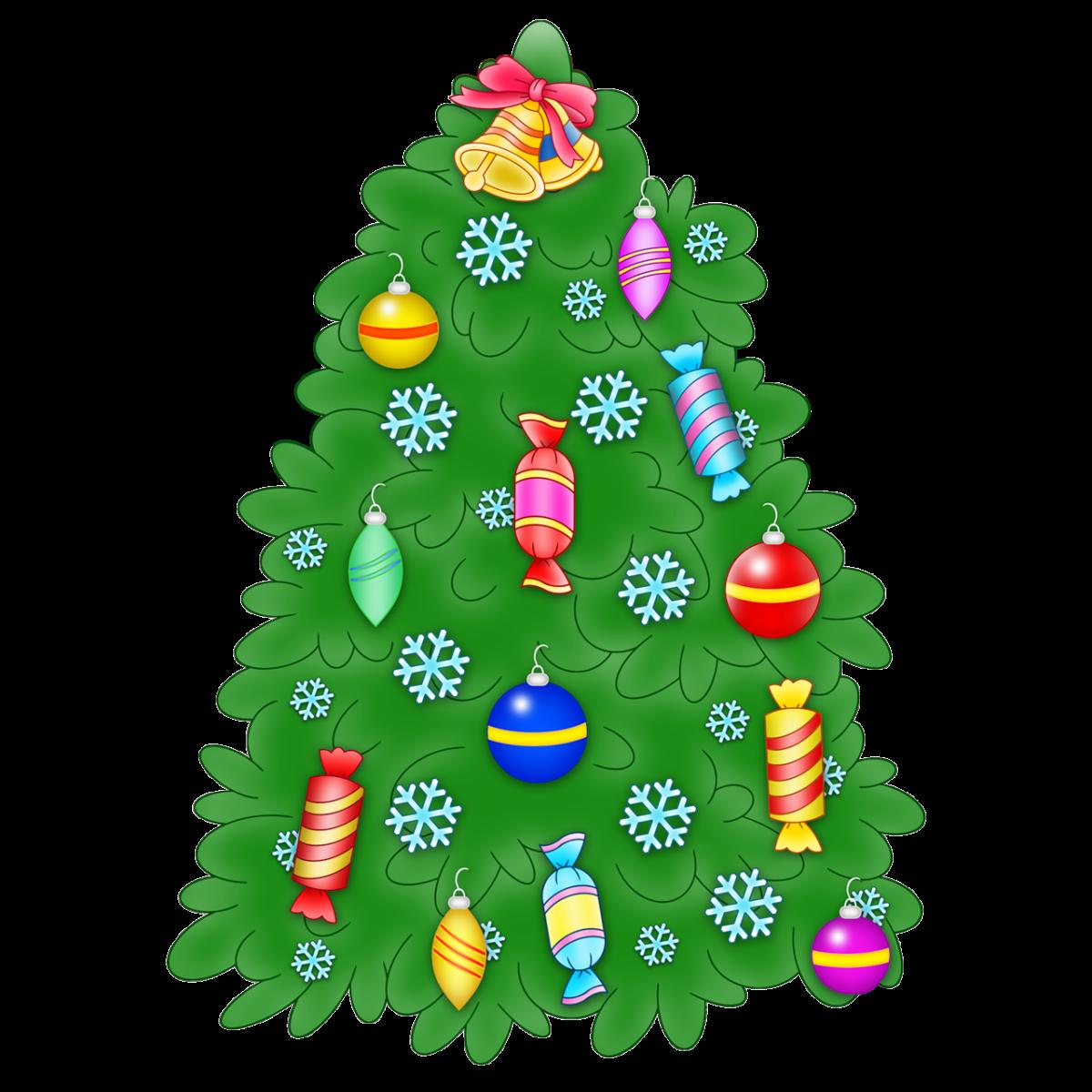 Картинки новогодней елки детские игрушки